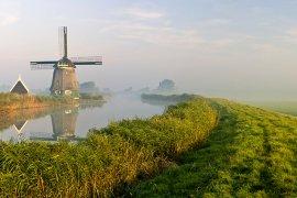 Polder in the Netherlands