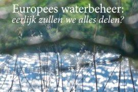 cover proefschrift Europees waterbeheer.