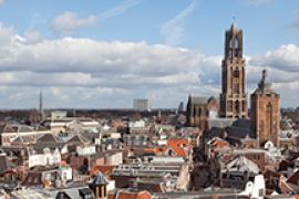 The city center of Utrecht.