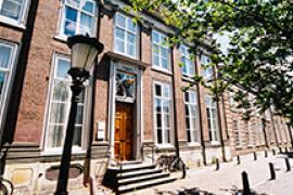 Universiteitspand in de binnenstad, aan de Pietershof. Foto van Alwin Slomp.