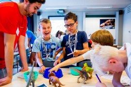 Kinderen maken kennis met wetenschap