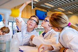 W&T in de klas (foto: Lize Kraan)