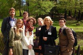 Dit is het winnende team (studenten van de LLM Public International Law)