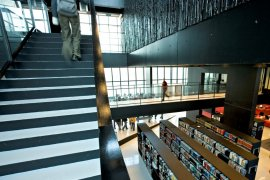 University library Utrecht Science Park/De Uithof