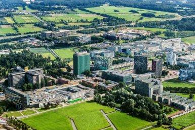 Luchtfoto USP De Uithof