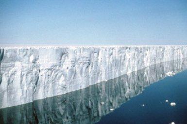 IJskap Antarctica smelt door verandering oceaanstroming