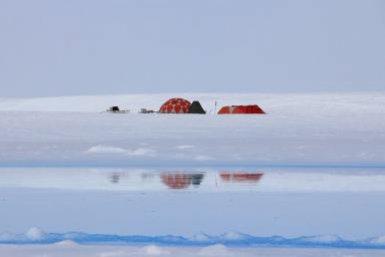 Kamp op Antarctica