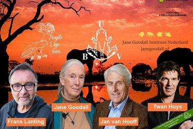Toots & Shoots met Frans Lanting, Jane Goodall, Jan van Hooff en Twan Huys