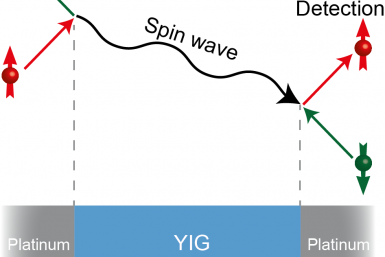Figuur 1: Schematische weergave van het experiment