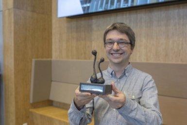Gunther Cornelissen Westerdijk Award 2017