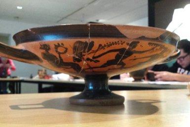 Antiek aardewerk uit de collectie van het Universiteitsmuseum