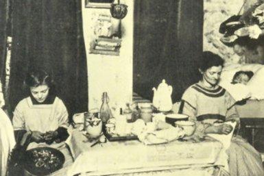 1914 Amsterdam, eenkamerwoning met 7 kinderen