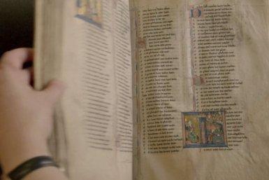 Het oudste handschrift van Jacob van Maerlants Rijmbijbel, Koninklijke Bibliotheek België