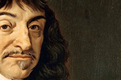 Portrait of René Descartes (1596-1650) - painting by Frans Hals
