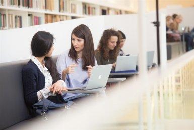 UB Binnenstad studenten laptop