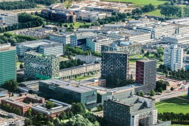 Luchtfoto van Utrecht Science Park