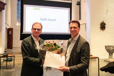 Robert Helder en Mirko Noordegraaf