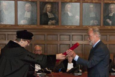 Promotie Piet Hoogeveen