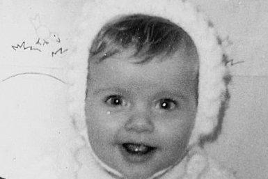 Ellen Gerrits als baby