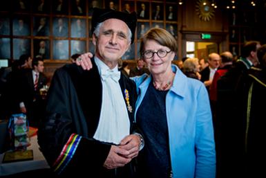 Prof. dr. Bert van der Zwaan en dr. Wilma Wessels