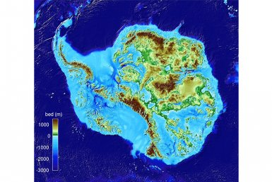 Highly detailed image of the Antarctic bedrock