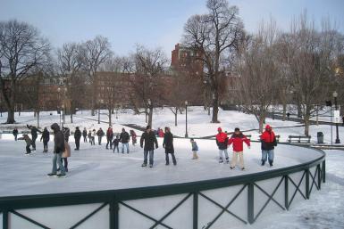 Boston Ice Skating