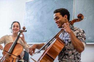 Muziek cello Parnassos cursus