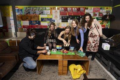 Studenten Da Vinci Project, Fotograaf: Ivar Pel