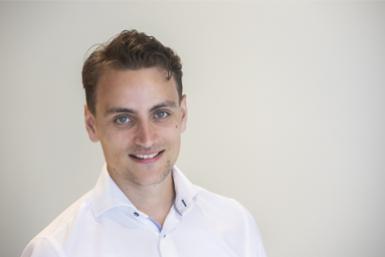 Marcel Robeer (BETA), genomineerd voor Beste Masterscriptie 2019 (fotograaf: Erik Kottier)