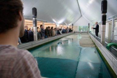 Opening Earth Simulation Laboratory. Fotograaf: Robert Oosterbroek