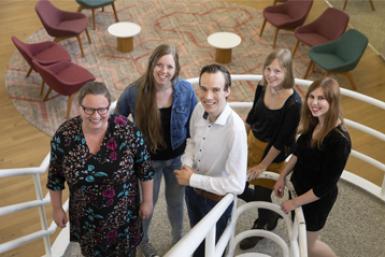 Platform Onbeperkt Studeren - Voor en Door studenten met een functiebeperking (fotograaf: Erik Kottier)