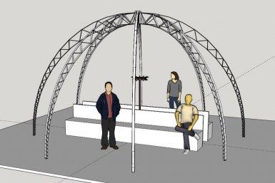 Parnassos Forward Festival Dome ontwerp