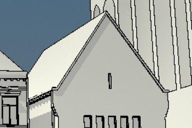 Een virtuele menigte op het Domplein
