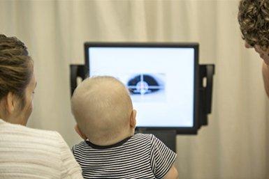 Eye tracking bij baby's