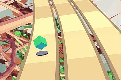 De computergame The Fling is een rhytm action game waarin de reactiesnelheid van de speler wordt getest.