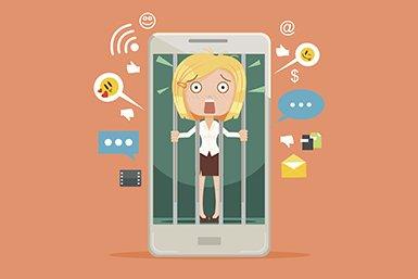 Symptomen van sociale mediaverslaving
