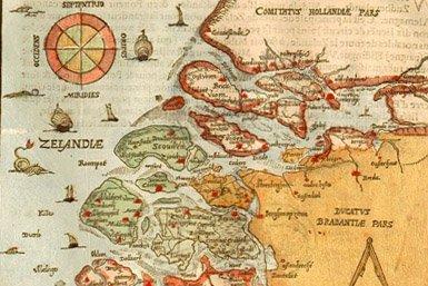 Kaart van Zeeland van Abraham Ortelius