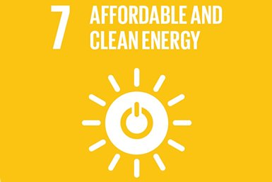 Sustainable Development Goal 7 - Affordable and Clean Energy