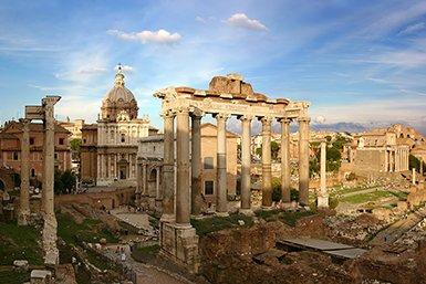 Forum Romanum in Rome. Wikimedia Commons/Stefan Bauer