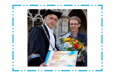 Jeroen Bouterse wint UU-scriptieprijs