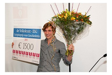 Joppe van Driel wint Volkskrant-IISG Scriptieprijs 2011
