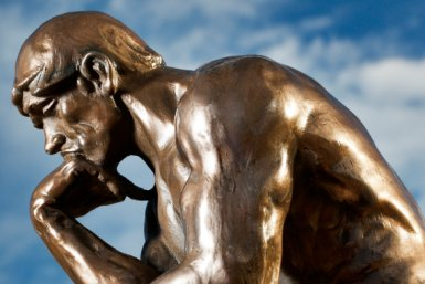 Rodin's The Thinker © iStockphoto.com/wesvandinter