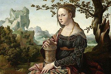 Maria Magdalena, door Jan van Scorel, ca. 1530 – Rijksmuseum