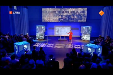 Beatrice de Graaf geeft DWDD University college over terrorisme, 12 maart 2016