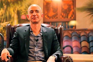 Jeff Bezos. Bron: Wikimedia/Steve Jurvetson