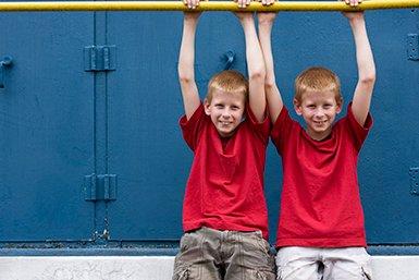 Eeneiige tweeling © iStockphoto.com