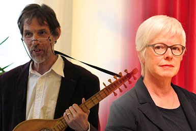 Prof. Louis Peter Grijp en Dr Dieuwke van der Poel