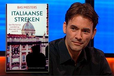 Bas Mesters met zijn nieuwste boek 'Italiaanse Streken'