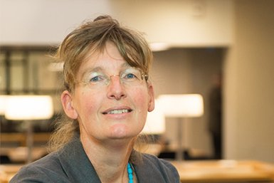 Prof. dr. Els Stonks. Foto: Jos Uljee, KB