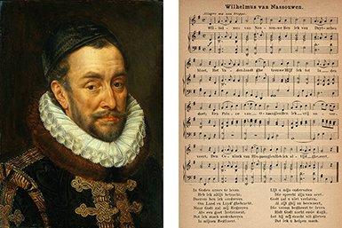 Willem van Oranje, het onderwerp van het Wilhelmus.